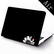 MacBook Funda Caricatura El plastico para MacBook Air 13 Pulgadas / MacBook Air 11 Pulgadas