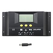 y-solar 30a lcd solenergi lade kontrolleren solar30 batterilading regulator