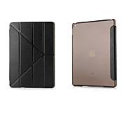 Etui Til iPad Air med stativ Autodvale / aktivasjon Heldekkende etui Helfarge PU Leather til iPad Air