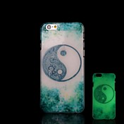 용 아이폰6케이스 / 아이폰6플러스 케이스 야광 케이스 뒷면 커버 케이스 기하학 패턴 하드 PC iPhone 6s Plus/6 Plus / iPhone 6s/6