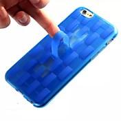 용 아이폰6케이스 / 아이폰6플러스 케이스 크리스탈 케이스 뒷면 커버 케이스 기하학 패턴 소프트 TPU iPhone 6s Plus/6 Plus / iPhone 6s/6