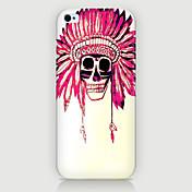 la cubierta del caso del patrón de indios teléfono de nuevo para iphone5c