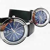 Reloj Casual Banda Blanco Azul