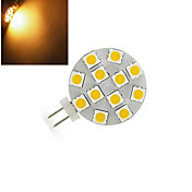200 lm G4 Luces LED de Doble Pin 12 leds SMD 5050 Blanco Cálido Blanco Fresco DC 12V