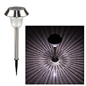 LED Solcellebelysning 1 LED Kjølig hvit Oppladbar / Dekorativ Batteri
