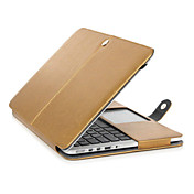 MacBook Funda Un Color Cuero de PU para MacBook Pro 13 Pulgadas