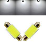 1000 lm Luces Decorativas 12 leds COB Blanco Fresco DC 12V