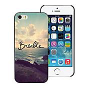 Etui Til Apple Etui iPhone 5 Drømmefanger Drømmefanger Hard PU Leather til Apple