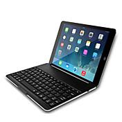 DGZ ultrafino del bluetooth de aluminio magnética cubierta de la caja del teclado inalámbrico para el aire de Apple IPAD