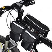 Acacia Sykkelveske <10L Vesker til sykkelramme Regn-sikker Multifunksjonell Sykkelveske 600D Ripstop Sykkelveske Sykling / Sykkel
