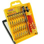rewin® herramienta de precisión 33pcs destornillador electrónico sistema de la mano conjunto de herramientas