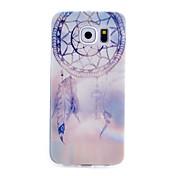 Para Funda Samsung Galaxy Diseños Funda Cubierta Trasera Funda Atrapasueños TPU para Samsung S6 S5 Mini S5 S4 Mini S4 S3