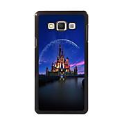 Para Funda Samsung Galaxy Carcasa Funda Diseños Cubierta Trasera Funda Ciudad Policarbonato para Samsung A8 A7 A5 A3