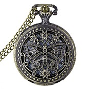 Hombre / Mujer / Unisex Reloj de Bolsillo Huecograbado Aleación Banda