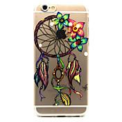 제품 iPhone 6 iPhone 6 Plus 케이스 커버 투명 패턴 뒷면 커버 케이스 포수 드림 소프트 TPU 용 iPhone 6s Plus iPhone 6 Plus iPhone 6s 아이폰 6