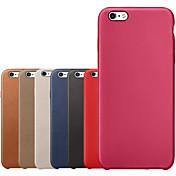 아이폰 6plus / 6S 플러스 오리지널 정품 가죽 백 커버 케이스 (모듬 색상)