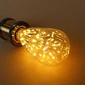 e27 3w st64 estrella edison bombilla fuente de luz decorativa de alta calidad