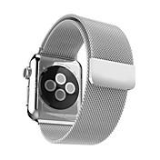 시계 밴드 Apple Watch Series 3 / 2 / 1 Apple Watch Series 3 용 Apple 밀라노 루프 스테인레스 스틸 손목 스트랩