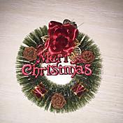 1pc navidad pino agujas guirnalda (rojo) decoraciones de navidad