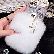 동백 다이아몬드 장식 아이폰 기가 6 더하기 ()에 대한 lady®elegant / 개성 전화 케이스,
