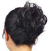 4.30 / 613 / 22-613 Clásico / Rizado Moño Pelo sintético Pedazo de cabello La extensión del pelo Clásico / Rizado Diario