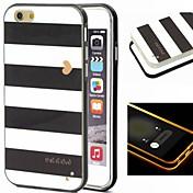 Para iPhone 8 iPhone 8 Plus iPhone 6 iPhone 6 Plus Carcasa Funda Diseños Cubierta Trasera Funda Líneas / Olas Suave TPU para iPhone 8