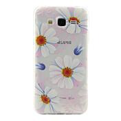 제품 삼성 갤럭시 케이스 케이스 커버 투명 패턴 뒷면 커버 케이스 꽃장식 TPU 용 Samsung Galaxy J5 J2 J1 Ace