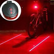 자전거 라이트 랜턴 & 텐트 조명 자전거 후미등 안전 등 Laser LED - 싸이클링 충격 방지 휴대성 경고 AAA 400 루멘 배터리 캠핑/등산/동굴탐험 사이클링 사냥-Defary