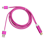 2m / 6ft 1080p micro usb MHL til HDMI-kabel adapter hdtv for galaxy s3 s4 note 2 3