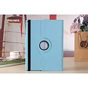 Funda Para con Soporte Rotación 360º Funda de Cuerpo Entero Color sólido Cuero de PU para iPad Pro 12.9''