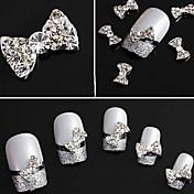 Encantador - Dedo - Joyas de Uñas - Metal - 10pcs - 1 - (cm)