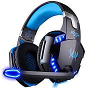 KOTION HVER G2000 Hodetelefoner (hodebånd)ForComputerWithMed mikrofon DJ Lydstyrke Kontroll Gaming Sport Lyd-avbrytende Hi-Fi Overvågning