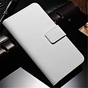 Etui Til Samsung Galaxy Samsung Galaxy Note Kortholder Lommebok med stativ Flipp Heldekkende etui Helfarge PU Leather til Note 4