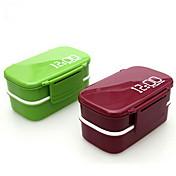 1pc Lunsjbokser Plastikk Lett å Bruke Kjøkkenorganisasjon