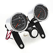 iztoss universell førte motorsykkelen turteller + kilometerteller speedometer måler