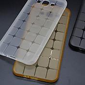 용 삼성 갤럭시 케이스 투명 케이스 뒷면 커버 케이스 기하학 패턴 TPU Samsung Grand Prime / Grand Neo / Grand 2 / E7 / E5 / Core Prime