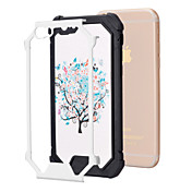 Para Funda iPhone 6 / Funda iPhone 6 Plus Antigolpes Funda Cubierta Trasera Funda Árbol Suave TPU iPhone 6s Plus/6 Plus / iPhone 6s/6