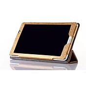 para Huawei m2-801w / 803L cubierta de cuero de seda caja de lujo para la cubierta del caso de la tableta MediaPad Huawei m2-801w