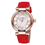 Mujer Reloj de Moda Cuarzo Resistente al Agua Aleación Banda Blanco Rojo Naranja Blanco Naranja Rojo