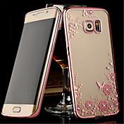 Funda Para Samsung Galaxy Samsung Galaxy S7 Edge Transparente Funda Trasera Flor TPU para S8 Plus S8 S7 edge S7 S6 edge plus S6 edge S6 S5