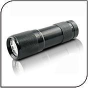 On-Off Linternas de Luz Negra LED 100lm 1 Modo de Iluminación Detector de Falsificaciones / Luz Ultravioleta De Uso Diario Negro