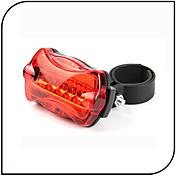 luces de seguridad Luz Trasera para Bicicleta LED - Ciclismo Impermeable antideslizante Luz LED AAA 80 Lumens Batería Ciclismo - XIE