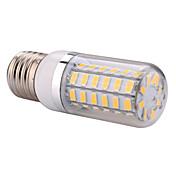 YWXLIGHT® 1200 lm E14 E26/E27 Bombillas LED de Mazorca T 60 leds SMD 5730 Blanco Cálido Blanco Fresco AC 110-130V AC 220-240V
