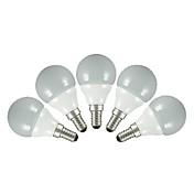 FSL® 200 lm E14 E26/E27 Bombillas LED de Globo G60 5 leds SMD 2835 Blanco Cálido Blanco Fresco AC 220-240V