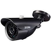 """zosi® 1000tvl 1/3 """"CMOS IR-kamera utendørs sikkerhet kamera 42 LED nattsyn 120ft"""