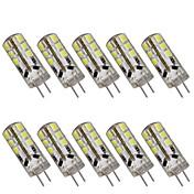 1w g4는 bi-pin 빛 t 24를지도했다 smd 2835 100-150lm 온난 한 백색 감기 백색 2800-3000k / 6000-6500k 장식적인 dc 12v