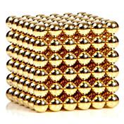 Juguetes Magnéticos 216 Piezas 3MM Magnetic Balls Golden&Silver 2 Color Choose,Diameter 3 MM Alivia el Estrés Kit de Bricolaje Juguetes
