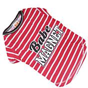Perro Camiseta Ropa para Perro Rojo/Blanco Algodón Disfraz Para mascotas