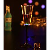 1 pieza Vasos y Tazas LED Múltiples Colores Batería Agua Con Sensor