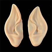 pvc hada del duendecillo falsas orejas de elfo nueva máscara de Halloween máscara del partido de la decoración de Halloween de miedo suave